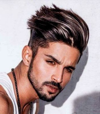 35 Modern Haircut For Men in 2020 - Low skin fade with a long wavy quiff