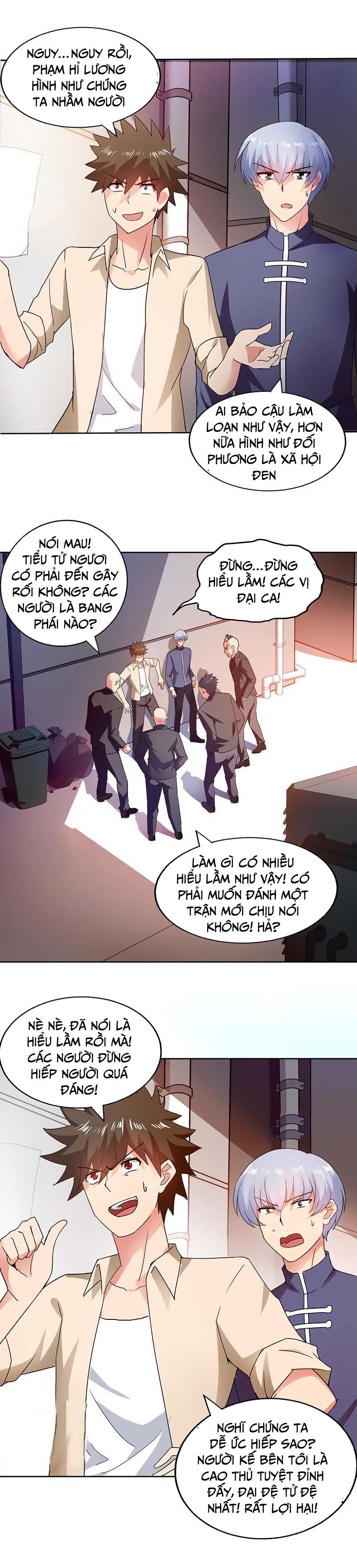 Địa Phủ Hỗn Giang Long Chap 38 page 3