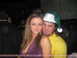 Cm Punk With Ex Girlfriend Maria Kanellis