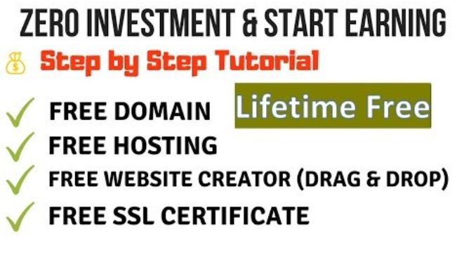 Get Free Domain Name, Free Hosting, Free SSL Certificate and Start Earning With Google AdSense | Step by Step Guide |