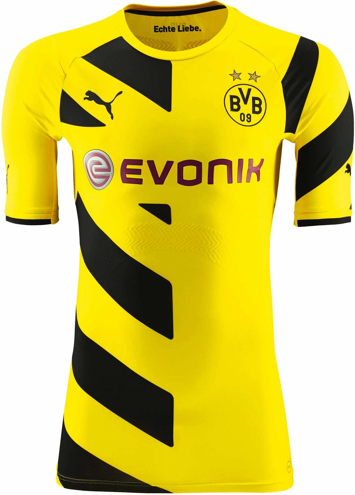 new borussia dortmund 14 15 kits released footy headlines. Black Bedroom Furniture Sets. Home Design Ideas