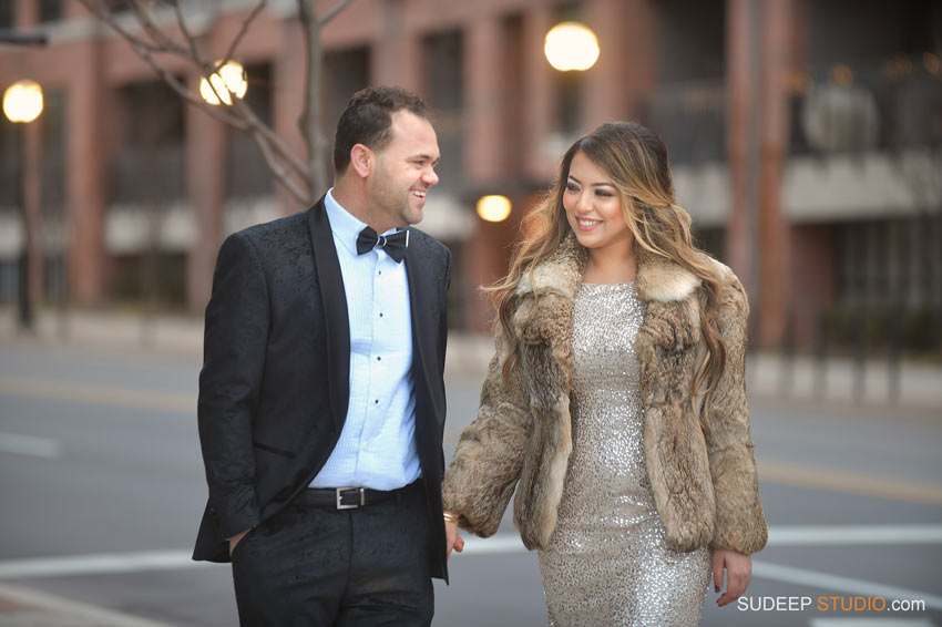 Arabic Wedding Winter Engagement Session Ann Arbor Dearborn by Ann Arbor Wedding Photographer - SudeepStudio.com