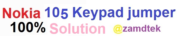Nokia 105 keypad ways