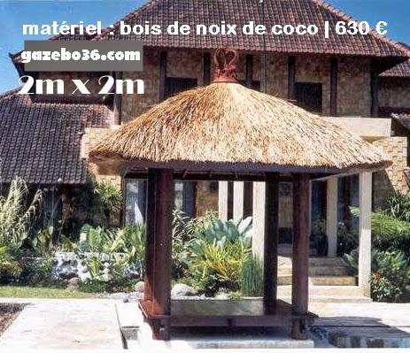 Kiosque de Jardin en Bois Pas Cher   Gazebo: Kiosque de ...