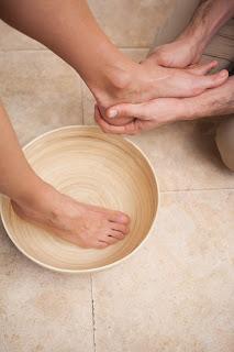 Feet Washing on Maundy Thursday