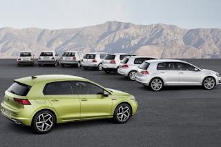 La octava generación del Golf tendrá más motores híbridos que de combustión puros