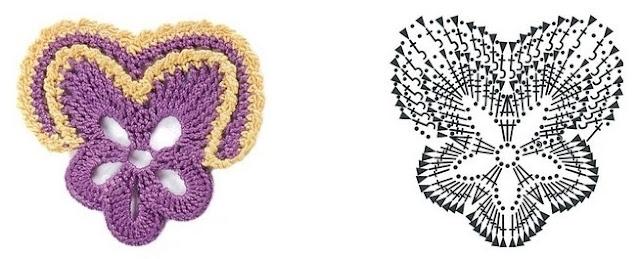 Цветочные мотивы крючком