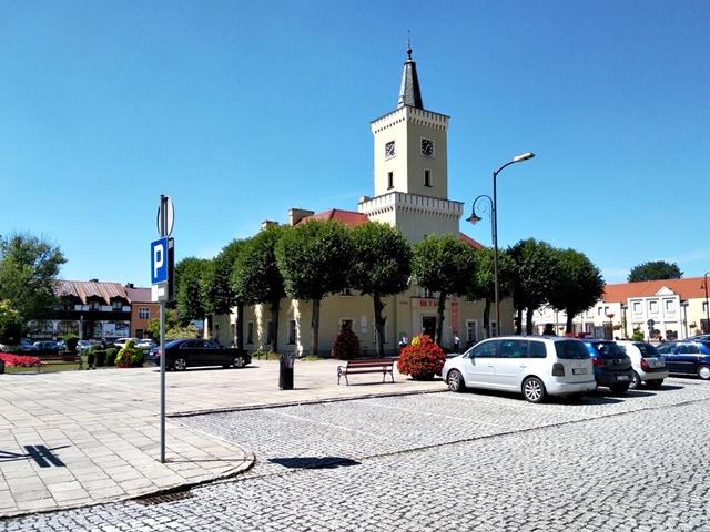 miasto, lubuskie, ratusz, historia, zabytki, parking, kostka brukowa, ciekawe miejsca województwa lubuskiego