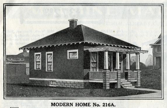1916 catalog image of Sears No 216A