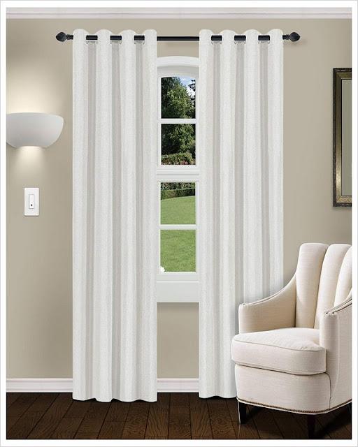 white linen blackout window curtains 96