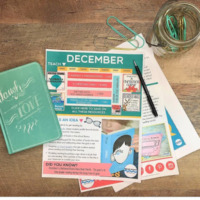 Free ideas for December lesson planning.