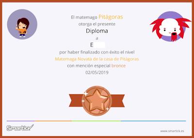 diploma bronce smartick