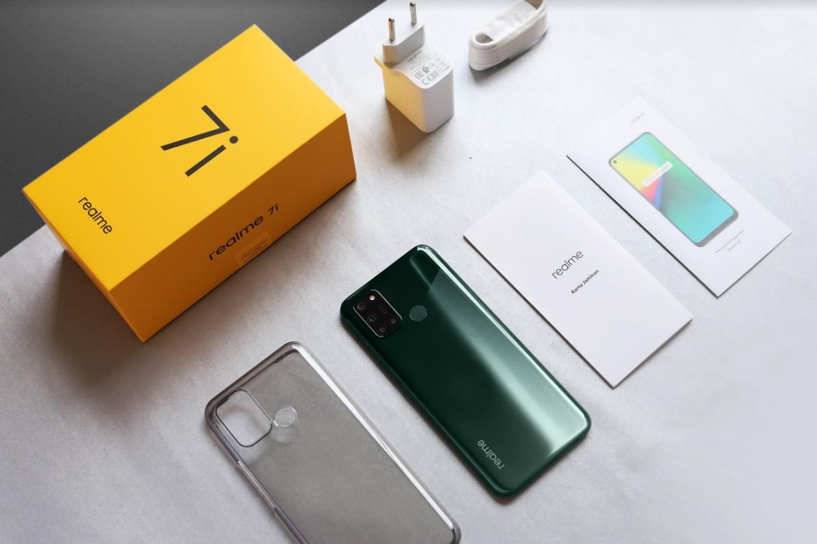 Mengintip Unboxing Realme 7i 64MP Power Master
