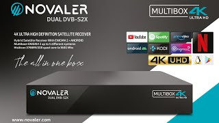 NOVALER Multibox 4K UHD