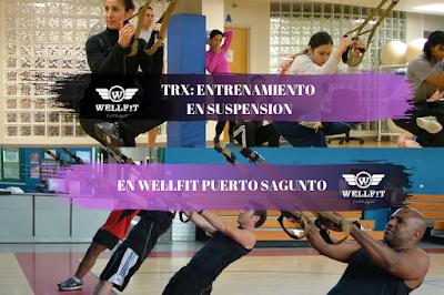 TRX: Entrenando en suspensión | WellFit Puerto Sagunto