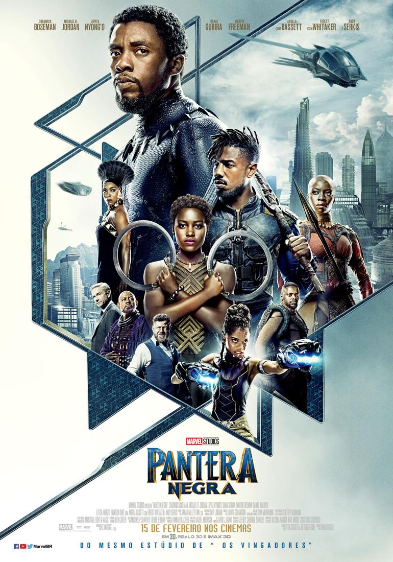 Capa do Filme Pantera Negra