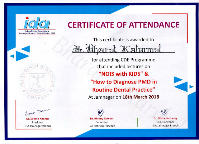 Nois with kids and How to Diagnose PMD in Routine Dental Practice