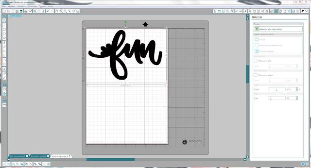 Come utilizzare singoli file .png nella modalità Print & Cut | Silhouette Cameo step7