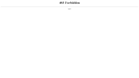 403 Forbidden error page