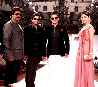 Vivek Oberoi and Zayed Khan @ Rajasthan Fashion Week  Inaugural ceremony in Jaipur