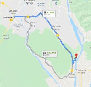 Map to reach lachhi wala