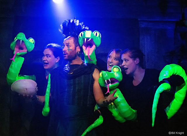 The Magic Flute, Sarah Champion, Julian Debreuil, Jennifer Begley and Polly Leech (Photo Bill Night)