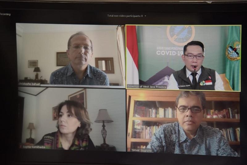 UNDP Indonesia Puji Kinerja Gubernur Jabar dalam Penanganan COVID-19