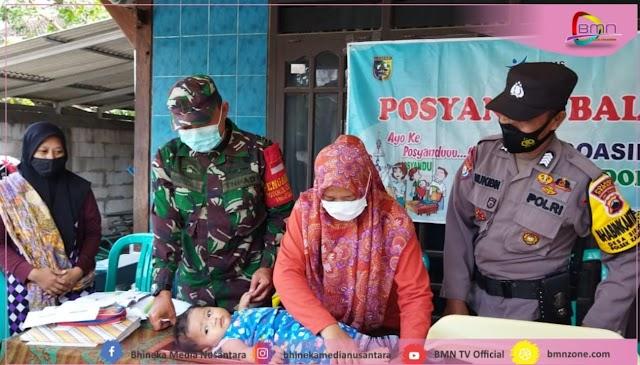 Dampingi Posyandu Balita, Wujud Kepedulian Babinsa Sidorejo Di Wilayah Binaan