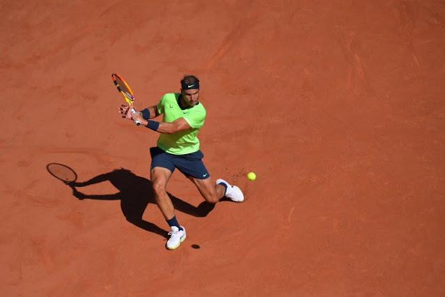 Rafael Nadal conseguiu sua vitória de número 101 em Roland Garros