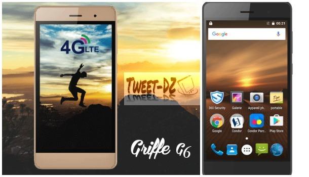 "كوندور تطلق هاتف ""Griffe G6"" رسميا.. السعر والمواصفات"