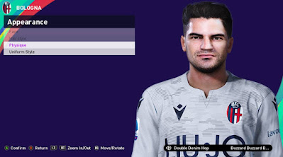 PES 2021 Faces Angelo Da Costa by Rachmad ABs