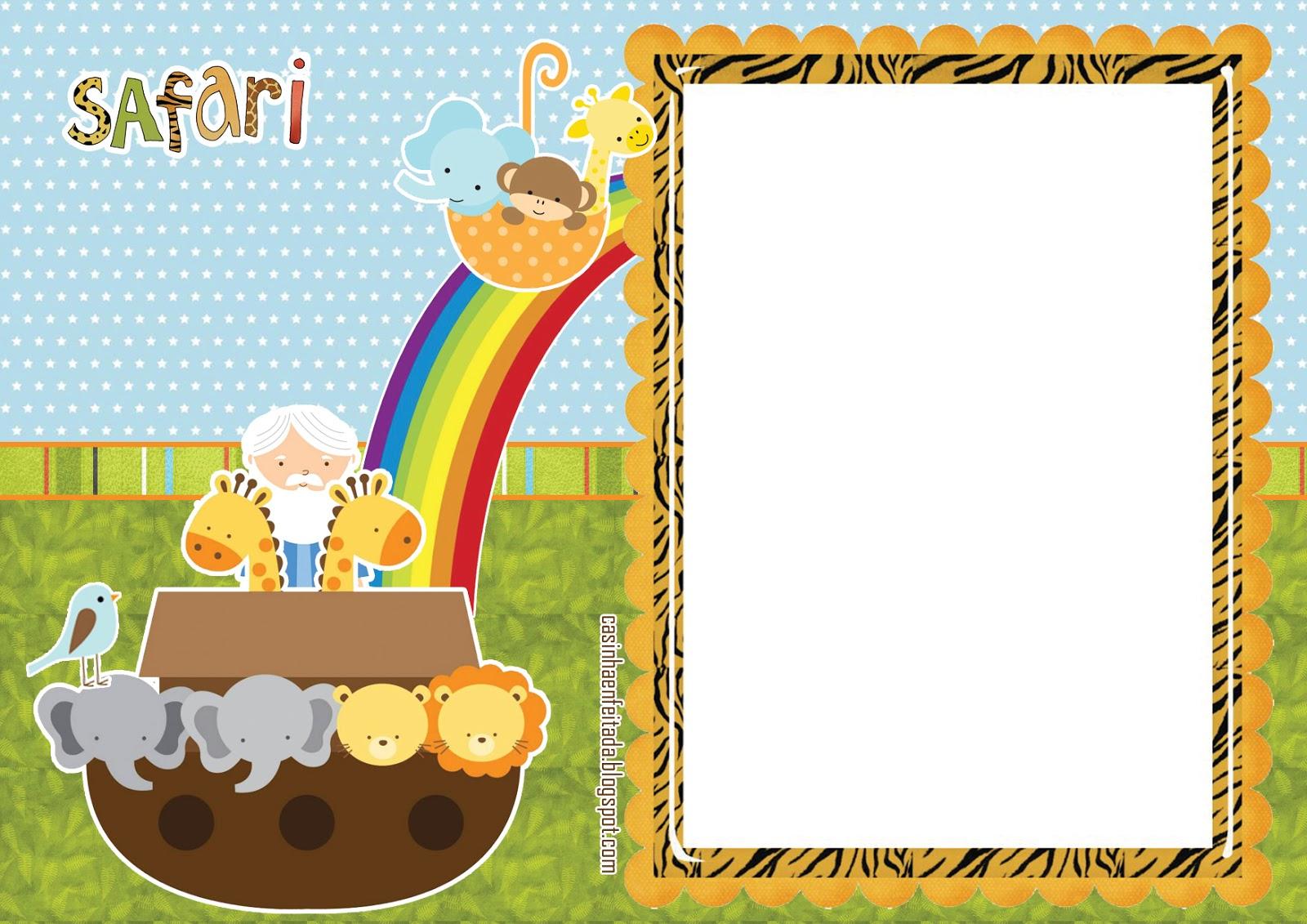 Mini Kit De Safari Para Bebés Para Imprimir Gratis Oh My