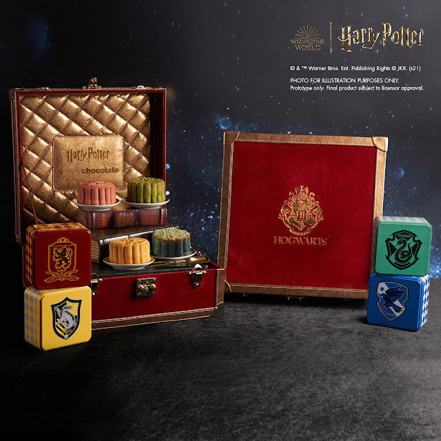 Awfully Chocolate Offers World's First Official Harry Potter Mooncake For Mid-Autumn Festival 2021