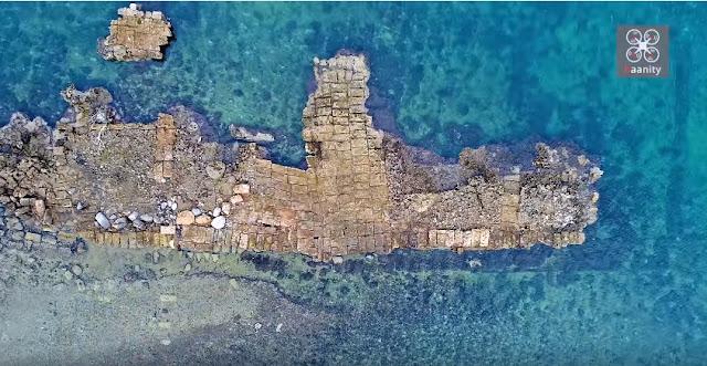 Το αρχαίο ελληνικό λιμάνι που δεν άγγιξε ο χρόνος (βίντεο drone)
