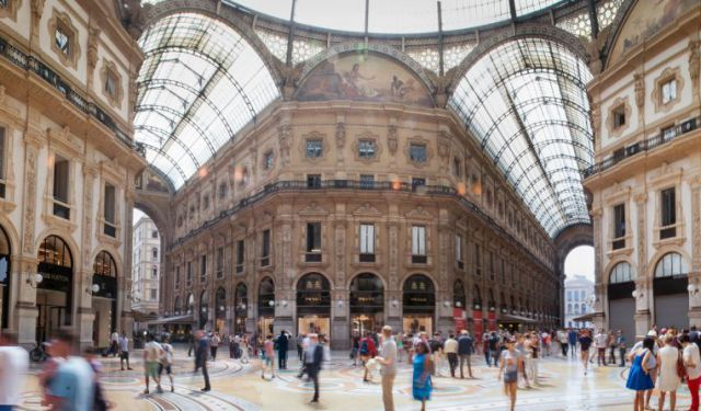 The Streets of Milan snapshot. PHOTO | AFP