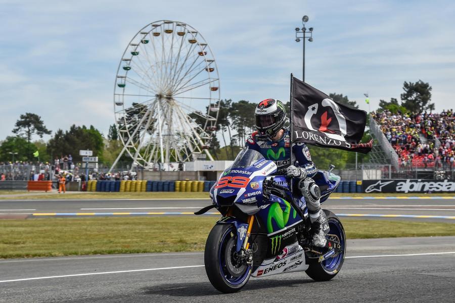 MotoGP 2016 Bugatti Le Mans France Lorenzo