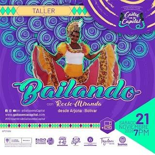 """taller """"Bailando con Rocío Miranda"""""""