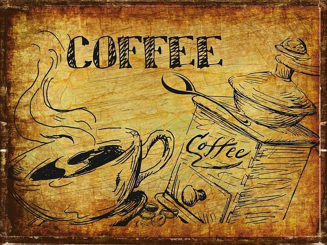 ảnh ly cà phê mang tính cổ điển