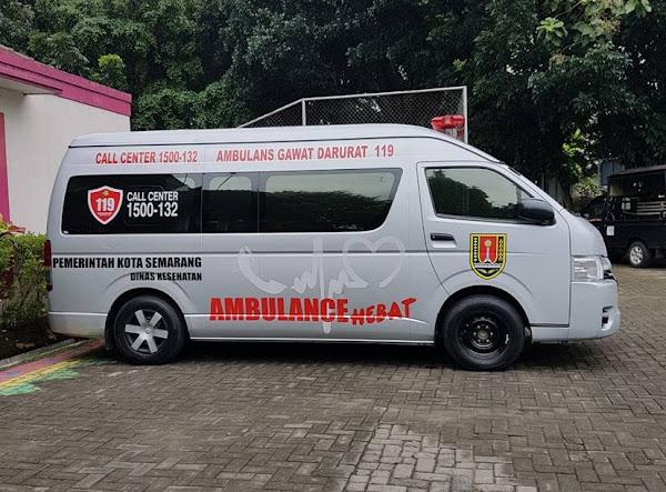Ambulance Hebat Dinas Kesehatan Kota Semarang