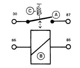 Komponen-komponen Relay