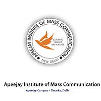 Apeejay Institute of Mass Communication Logo