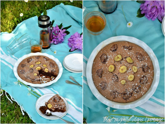 """Le """"savoureux"""" , gâteau chocolat-banane de Christophe Felder"""