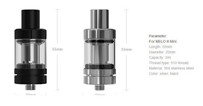 New color for Melo III atomizer launching
