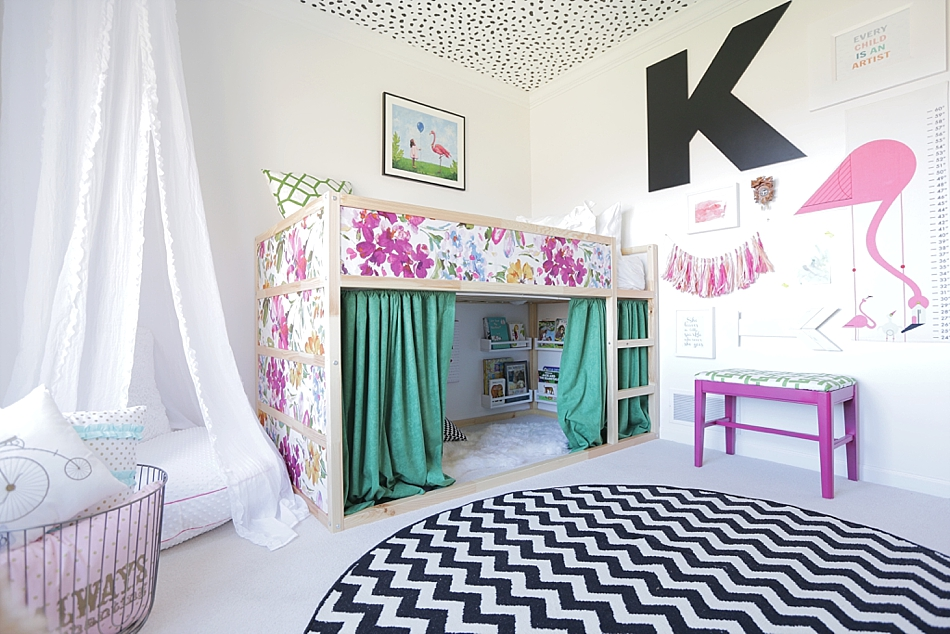 transitional pattern color kids room eclectic transitional design