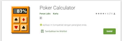 Cara Menganalisa Peluang Kemenangan Poker Online