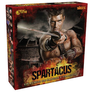 El juego de mesa basado en la serie de Spartacus