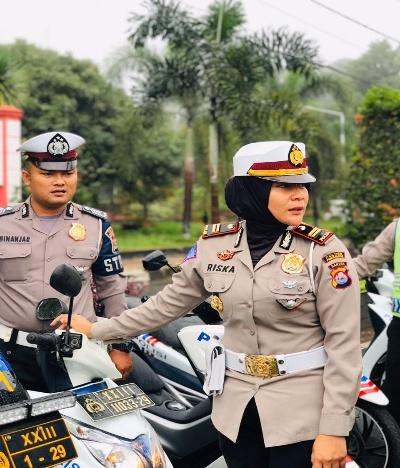 Hari Kartini, Ini Kata Kasat Lantas Polres Pandeglang Iptu Riska Tri Arditia
