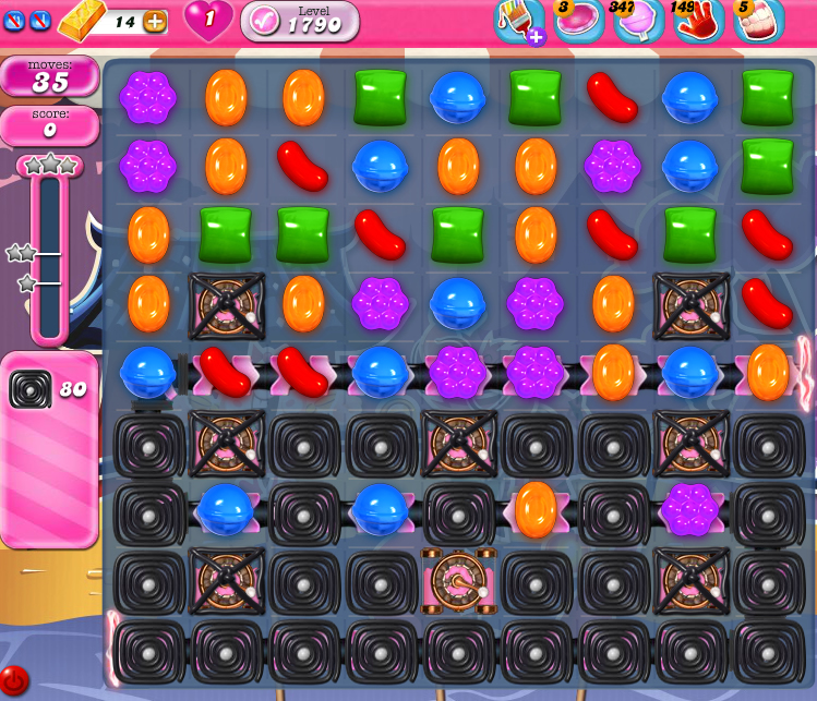 Candy Crush Saga 1790