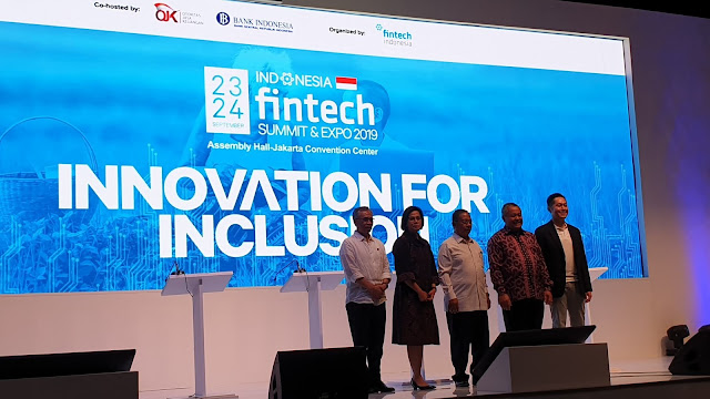 Perkembangan Industri Financial Technology - Indonesia Fintech Summit & Expo 2019