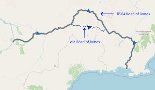 Road of Bones ROB R504 kolyma road ressearch over tomtor